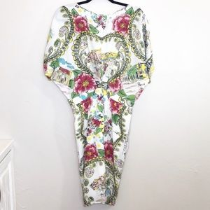 Anthropologie Dresses - Anthropologie Colette Dinnigan Scenic Silk dress